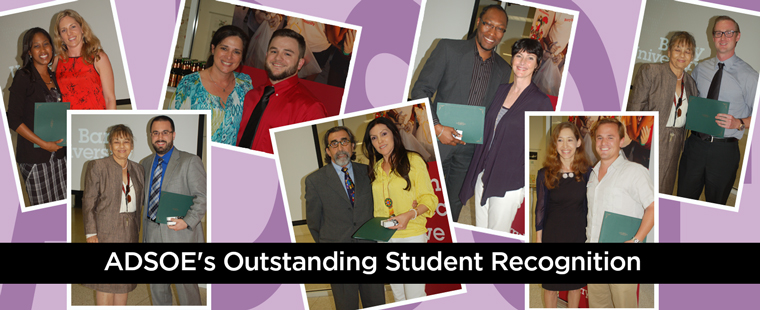 ADSOE celebrates Outstanding Students at annual award ceremony