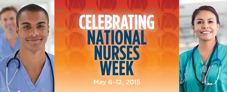 Celebrating National Nurses Week May 6-12