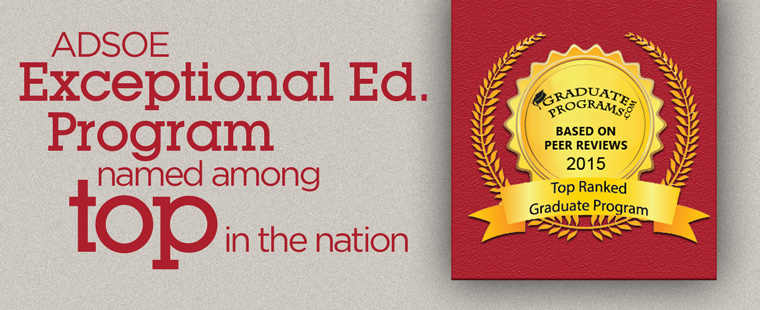 ADSOE Special Ed. Program named among top in the nation