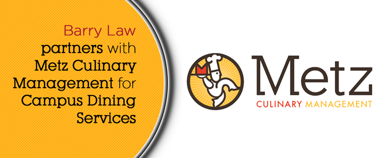 Barry University Law School partners with Metz Culinary Management for Campus Dining Services