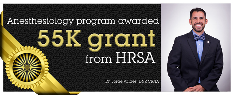 Anesthesiology department awarded HRSA grant