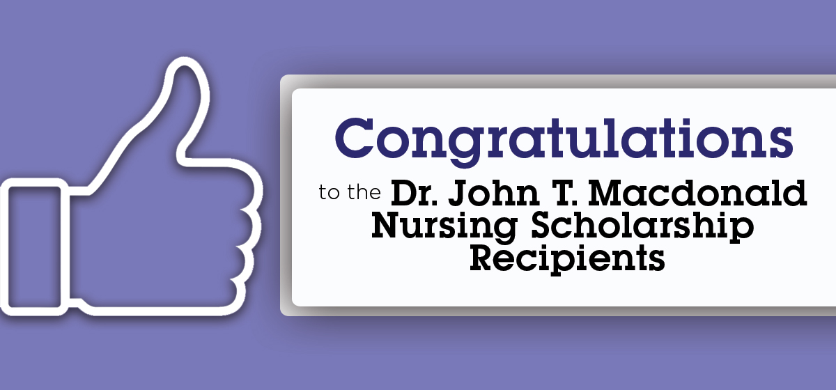 Congratulations nursing students