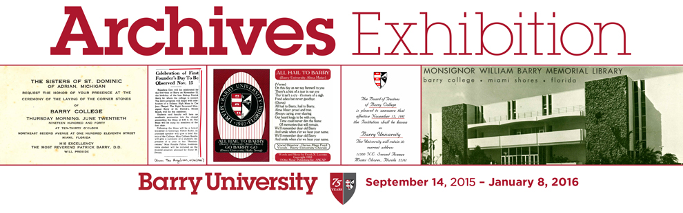 Join Us: Archives Exhibition opens today