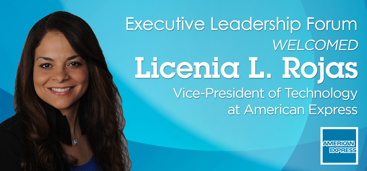 Executive Leadership Forum welcomed VP of Technology at American Express