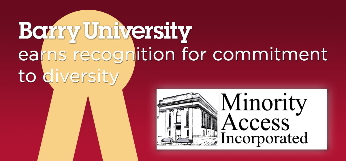 Barry University receives national recognition for commitment to diversity