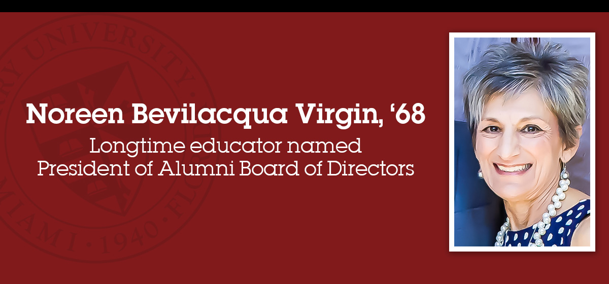 Longtime educator named President of Alumni Board of Directors