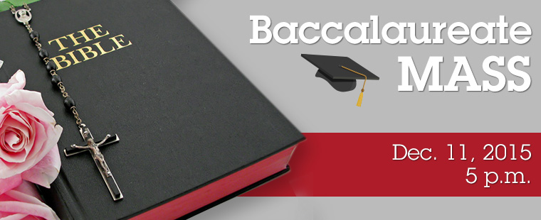 Baccalaureate mass program sample