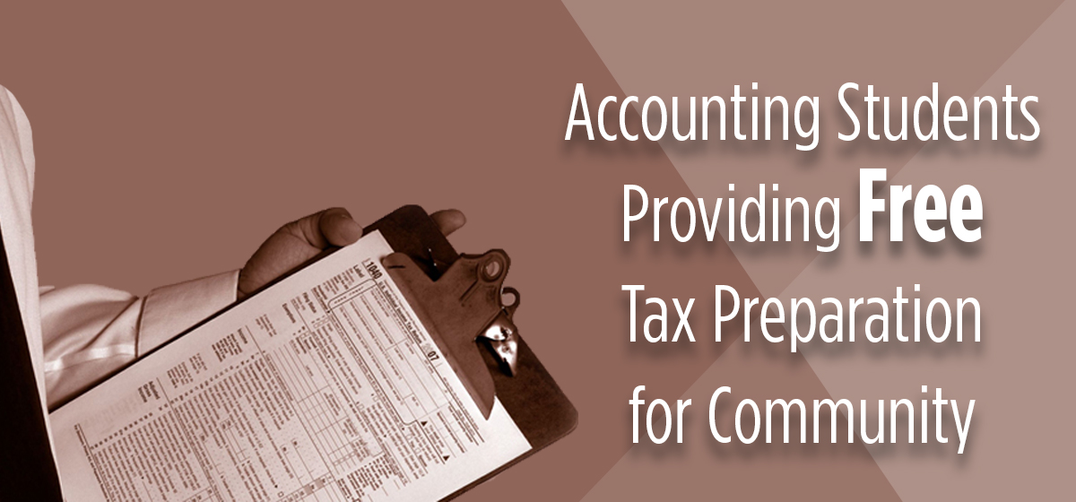 Barry University's Accounting Students Providing Free Tax Preparation for Community