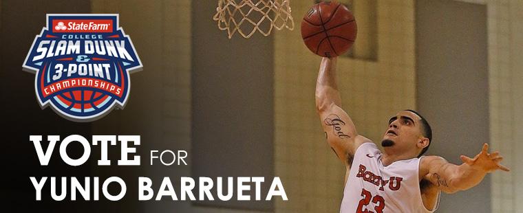 Dark Horse Dunker: Vote for Yunio Barrueta