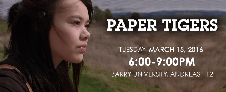 Movie Screening: Paper Tigers