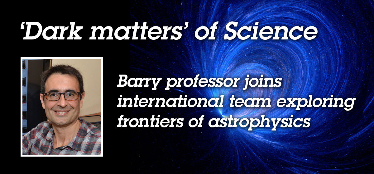 Barry professor joins international team exploring frontiers of astrophysics