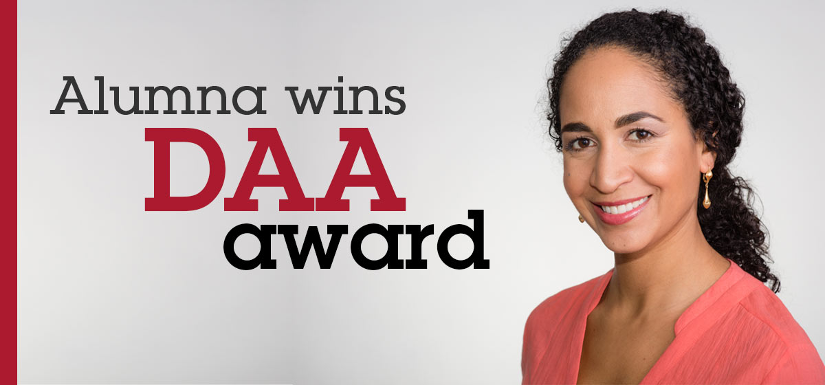 Anesthesiology alumna wins DAA award