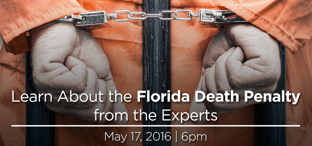 The Death Penalty Speaking Tour is coming to Barry University May 17th