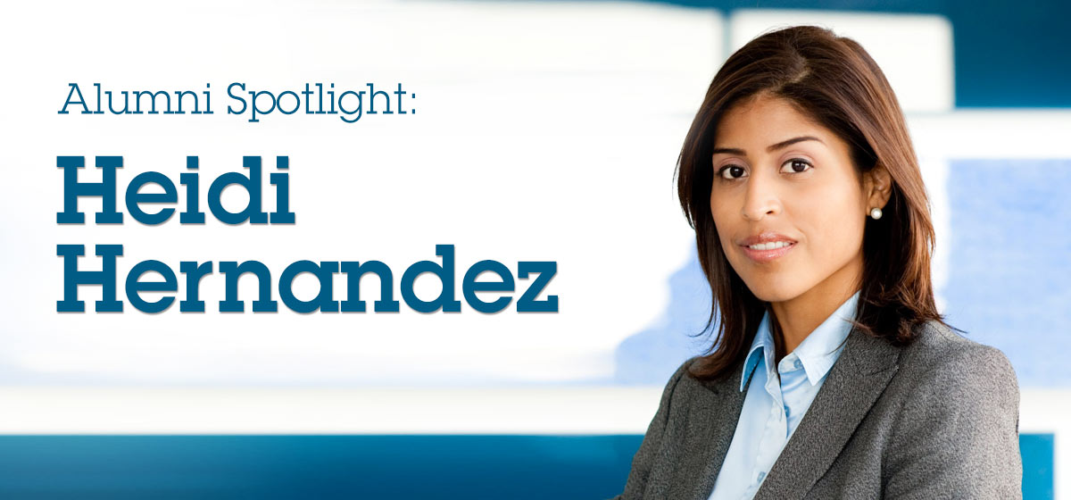 Alumni Spotlight: Heidi Hernandez