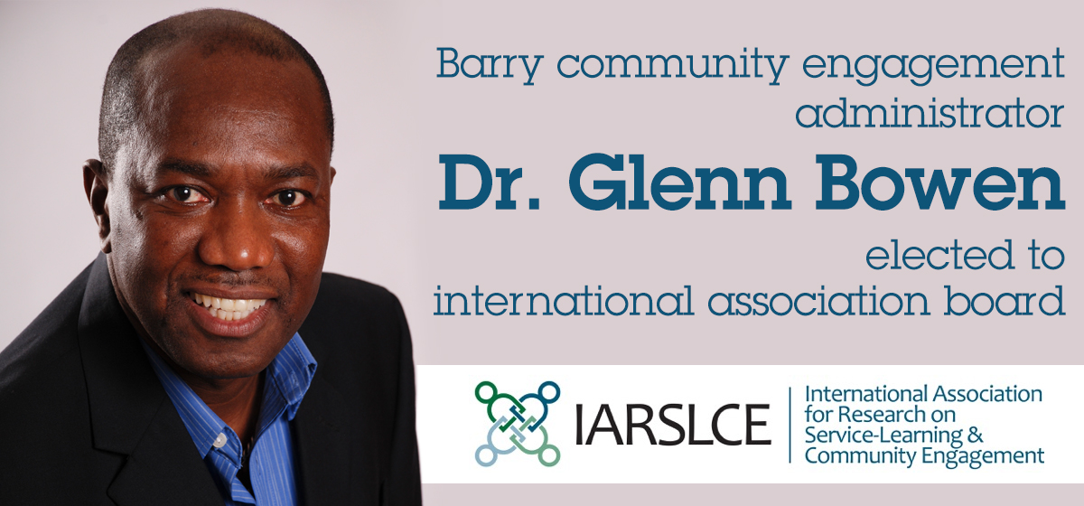 Dr. Glenn Bowen elected to international association board