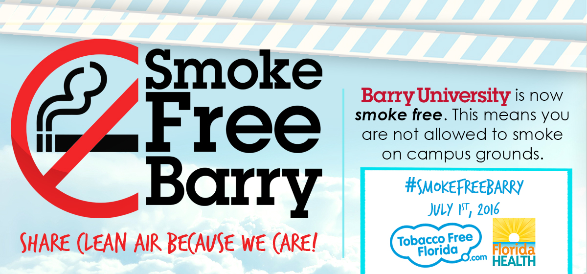 Barry University is now smoke free