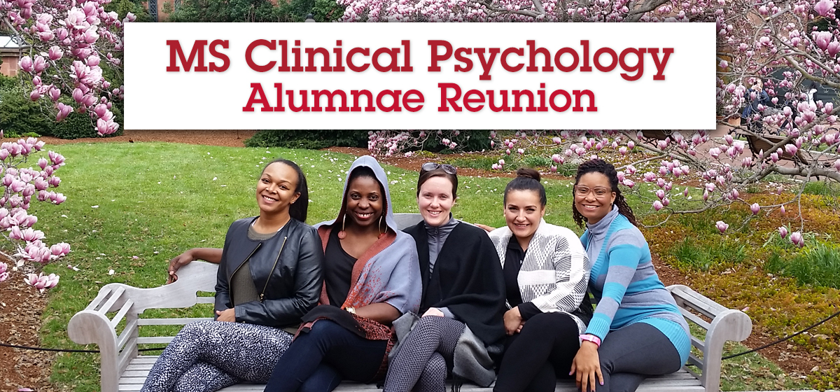 MS Clinical Psychology Alumnae