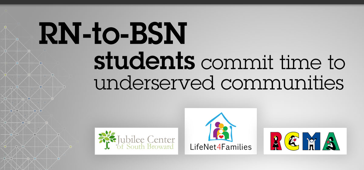 RN-to-BSN students commit time to underserved communities