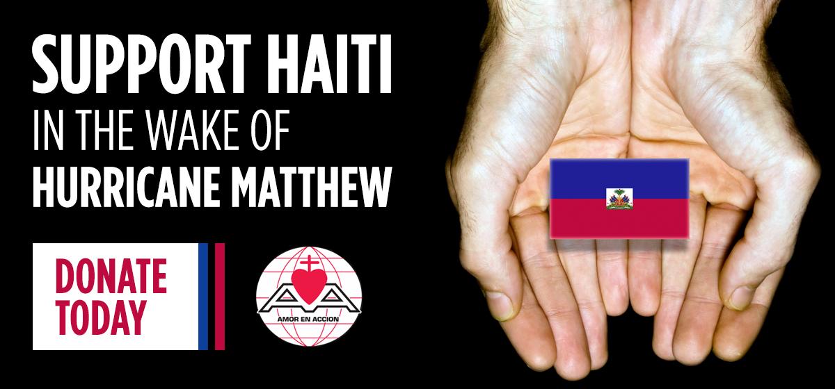 Support Haiti in the Wake of Hurricane Matthew