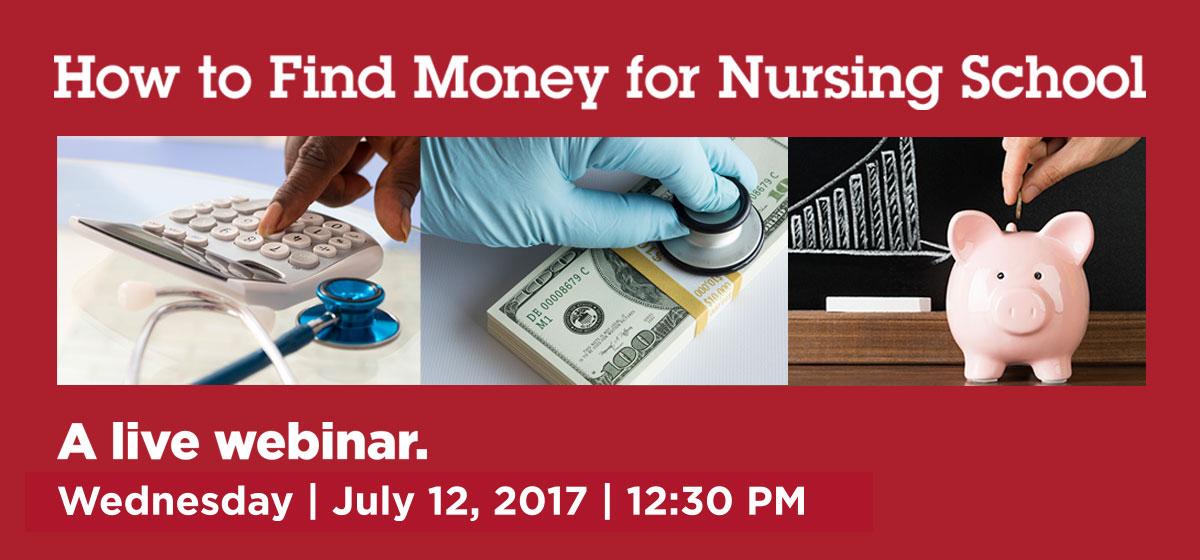 Live Webinar: How to Find Money for Nursing School