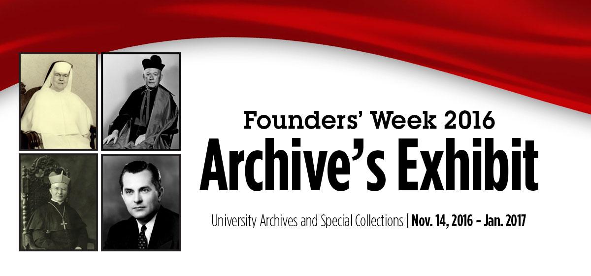 Founders' Week Archive's Exhibit
