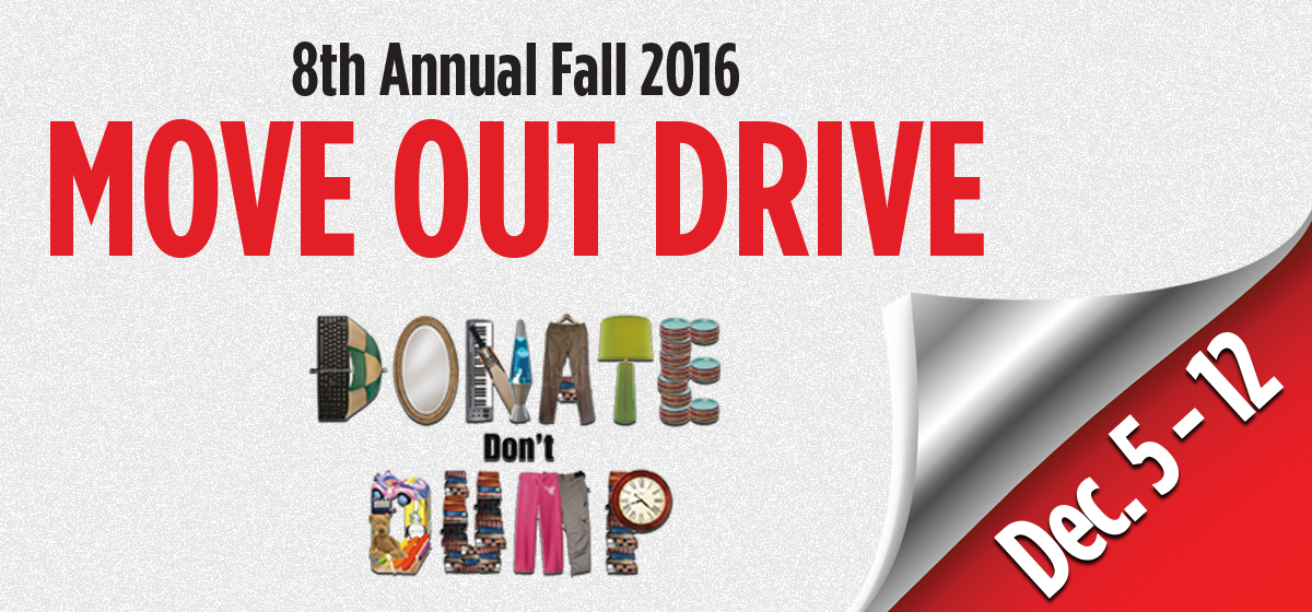 8th Annual Move Out Drive