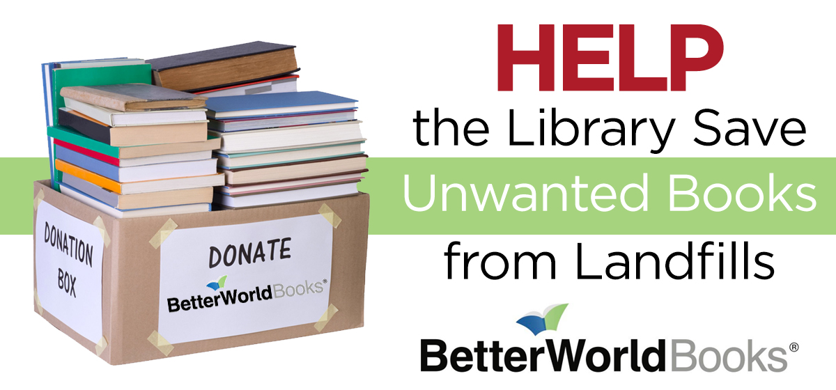 Help Save Unwanted Books From Landfills
