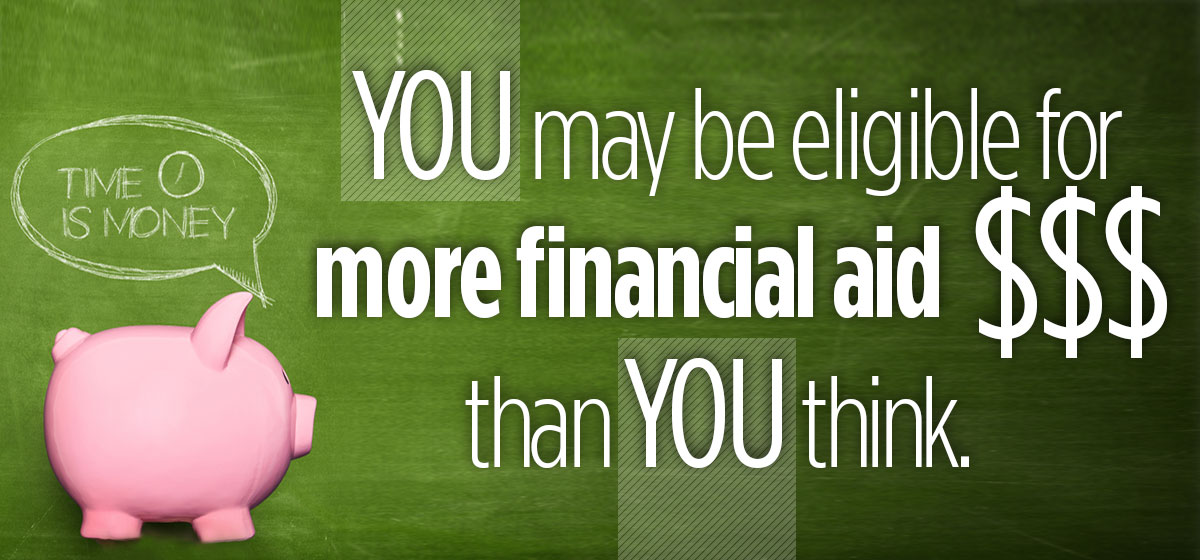 Don't miss this financial aid money