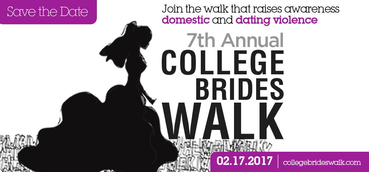 7th Annual College Brides Walk - Save the Date: Feb. 17