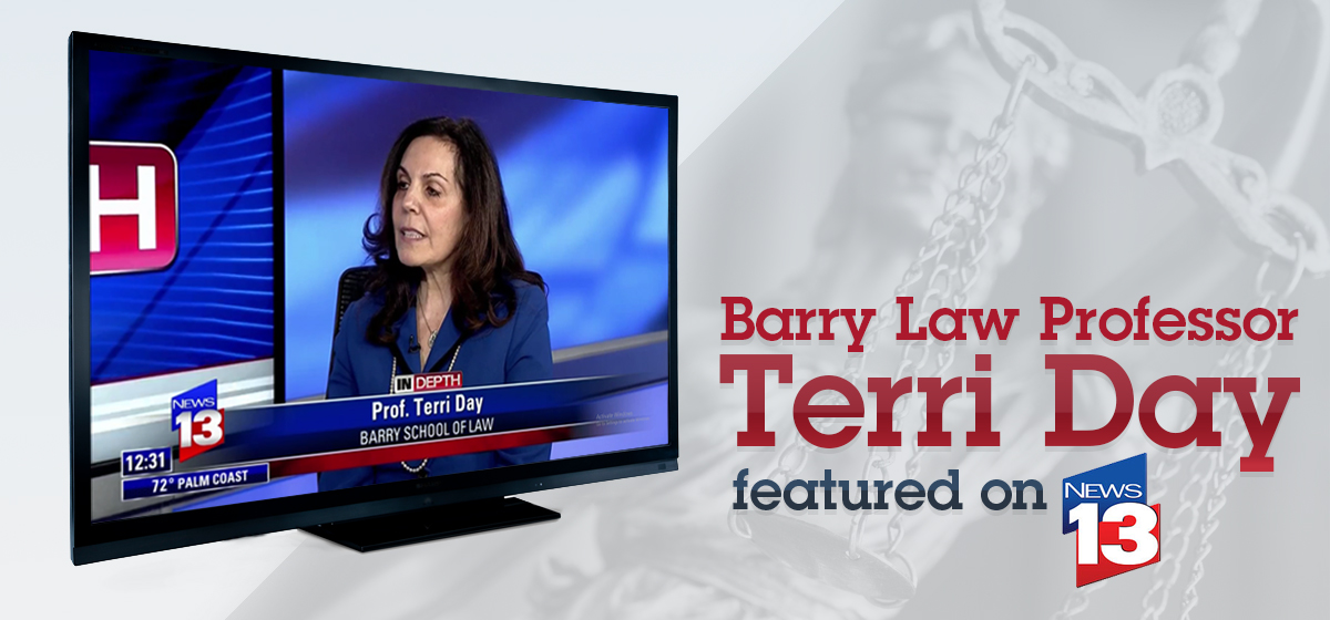 Professor Terri Day Featured on News 13