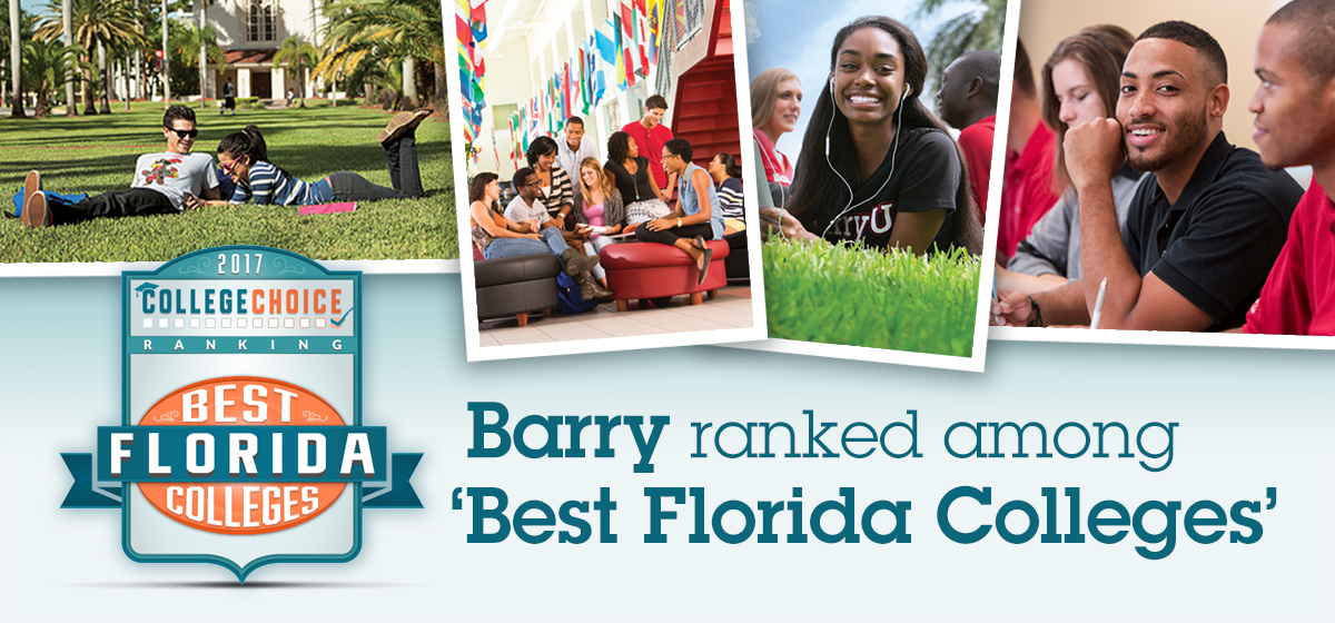 Barry ranked among 'Best Florida Colleges'