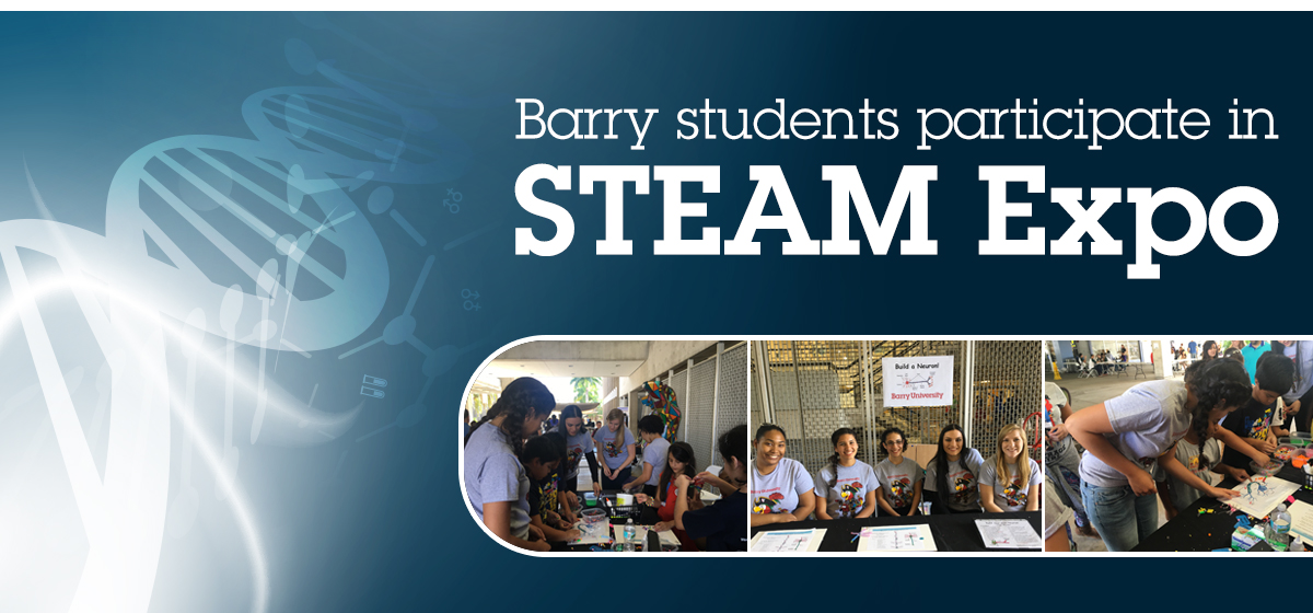 Barry students participate in STEAM Expo