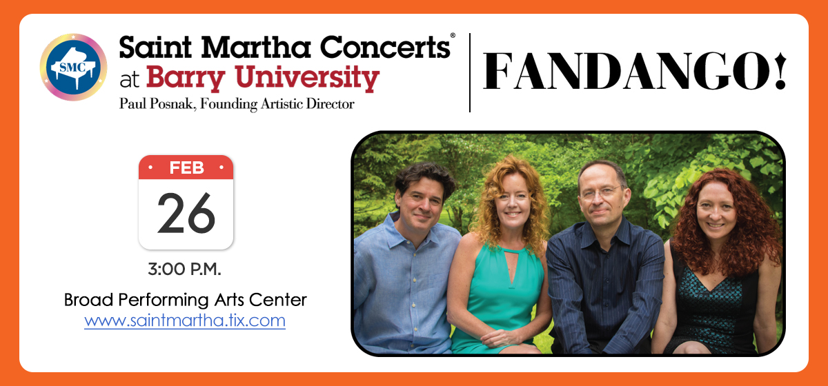 Musical group FANDANGO! to perform Feb. 26