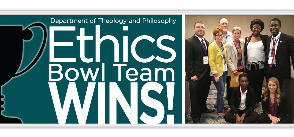 The Ethics Bowl Team WINS again!
