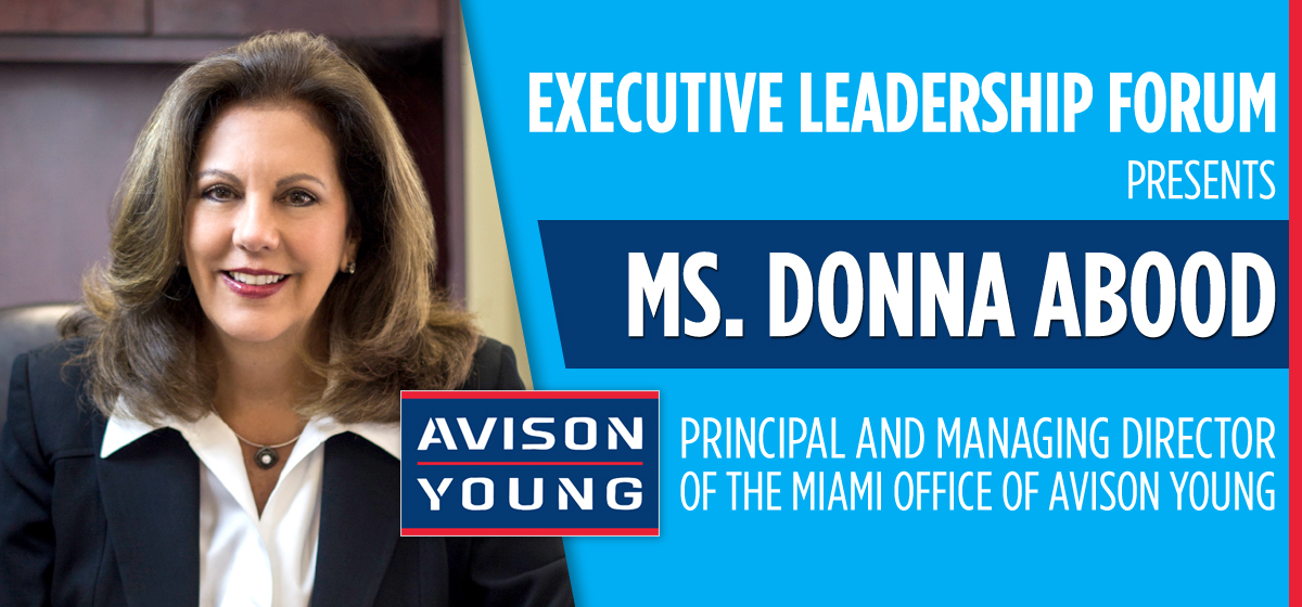 Executive Leadership Forum presents a conversation with Donna Abood