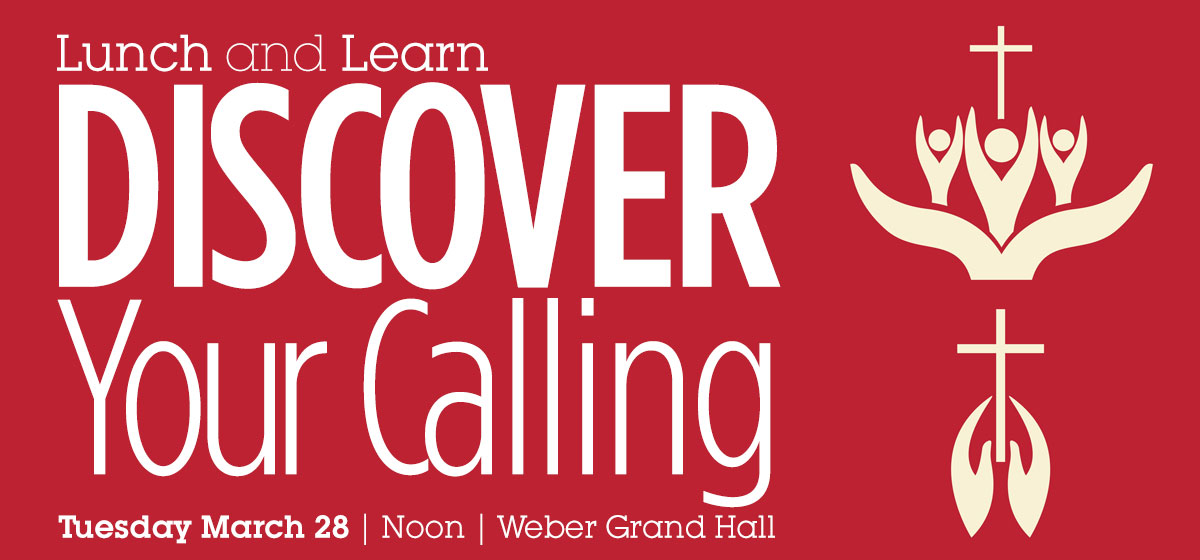Lunch and Learn: Discover Your Calling