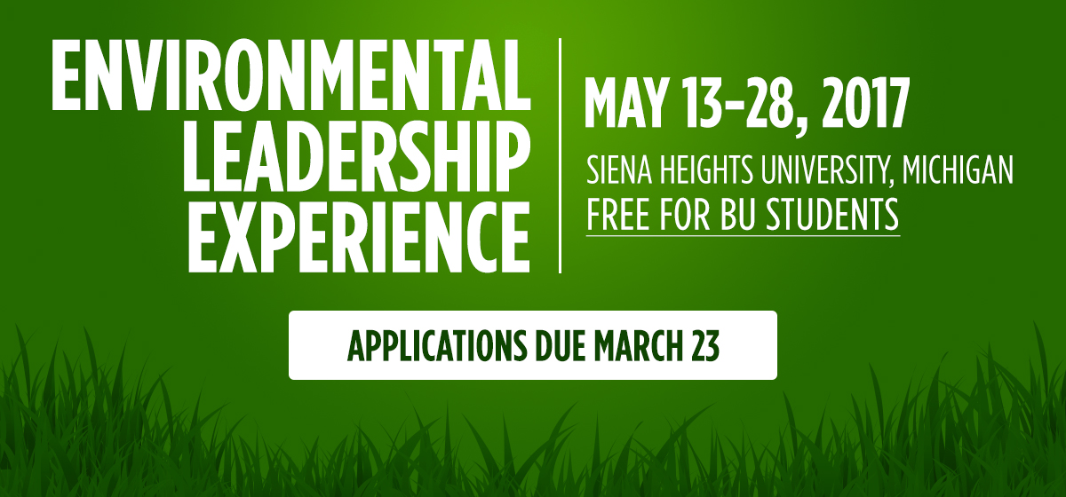 Environmental Leadership Experience – Summer 2017
