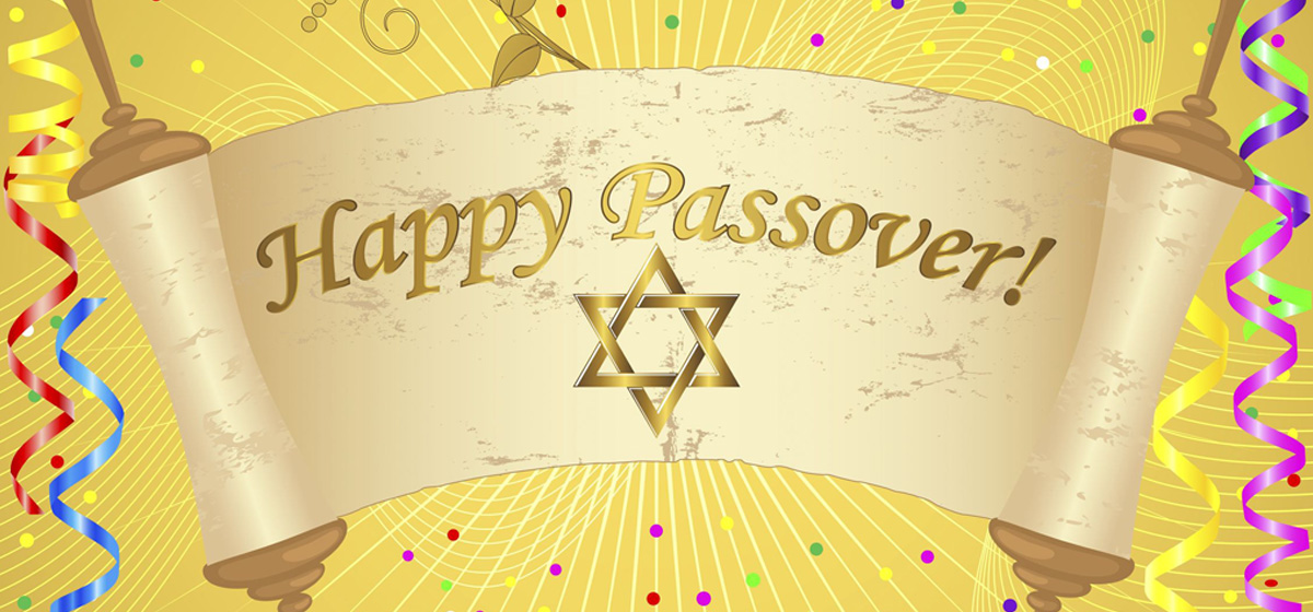 Wishing our Jewish Sisters and Brothers a Happy Passover 2017
