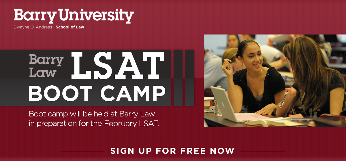 Barry Law LSAT Boot Camp