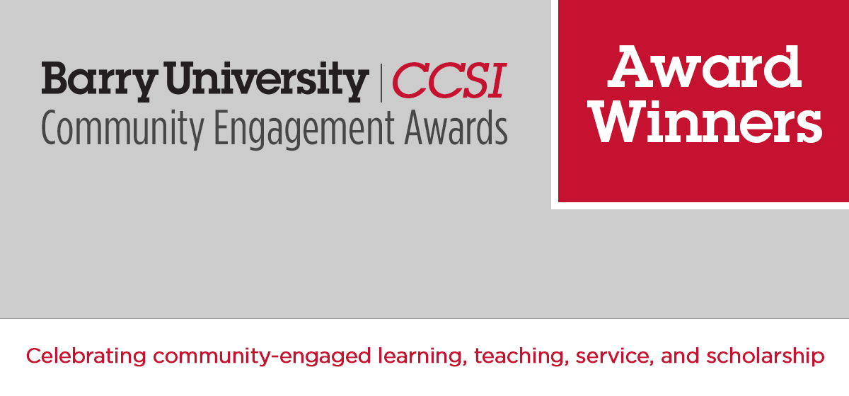 Students, Faculty, and Community Partners Honored for Community Engagement