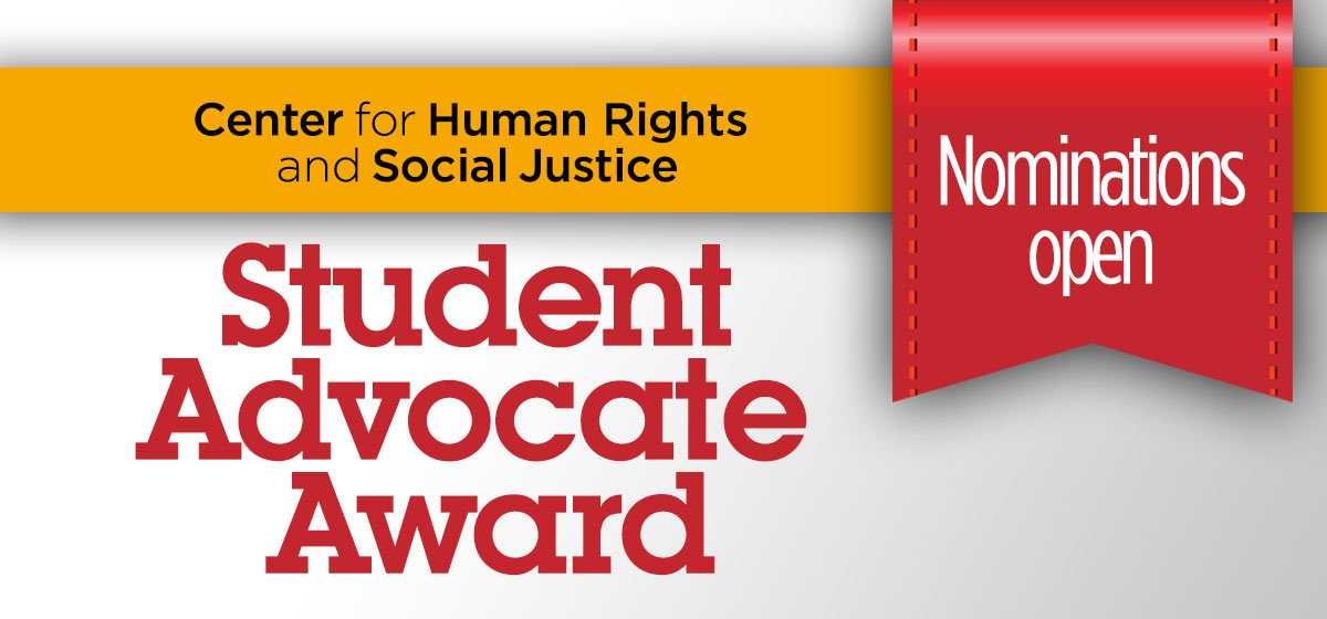 Student Advocate Award of $250.00