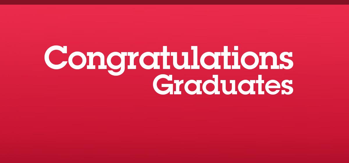 Congratulations, Class of 2017
