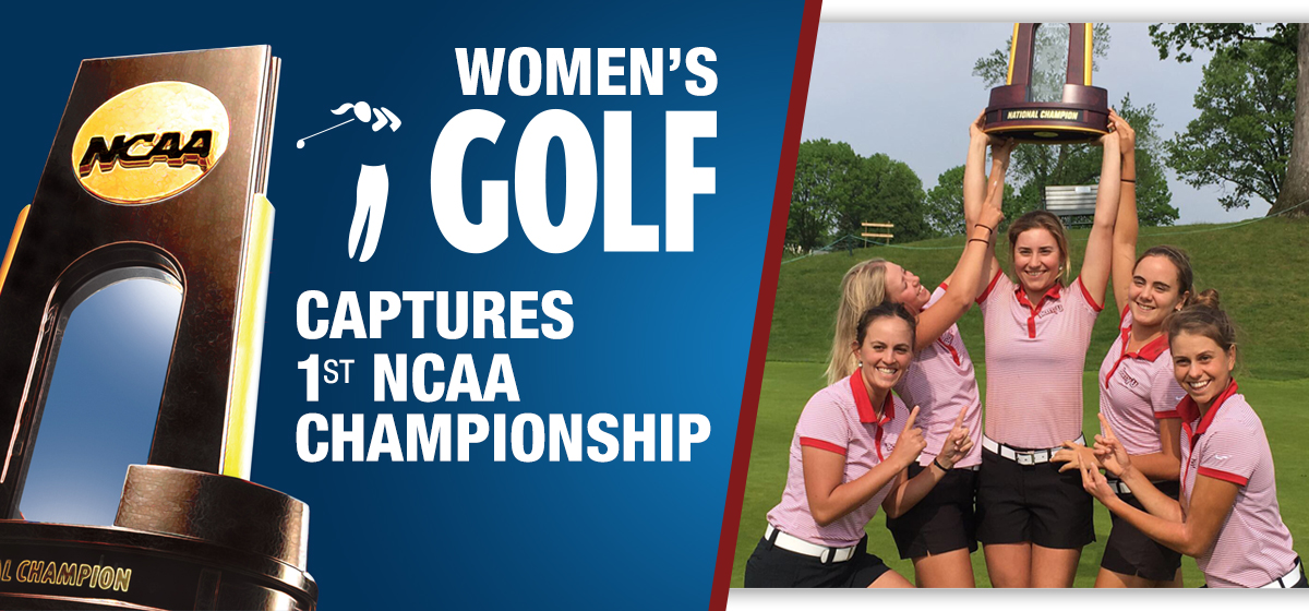 Women's Golf Captures 1st NCAA Championship