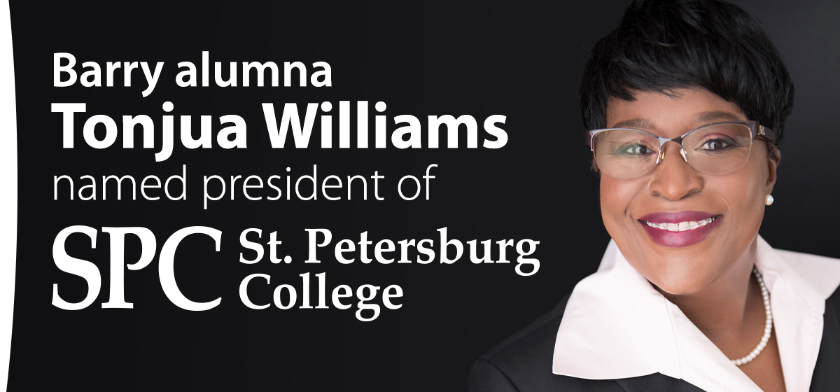 Barry alumna Tonjua Williams named president of St. Petersburg College