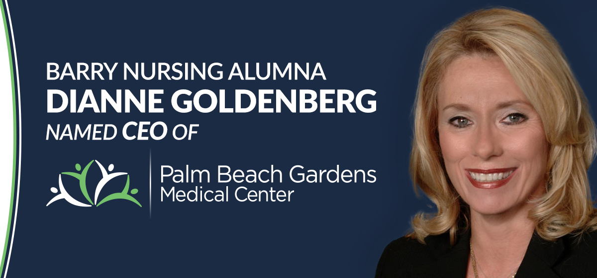 Barry nursing alumna named CEO of Palm Beach Gardens Medical Center
