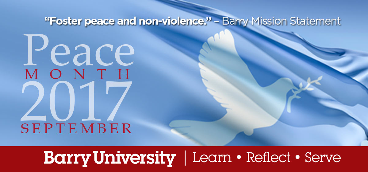 Peace Month 2017