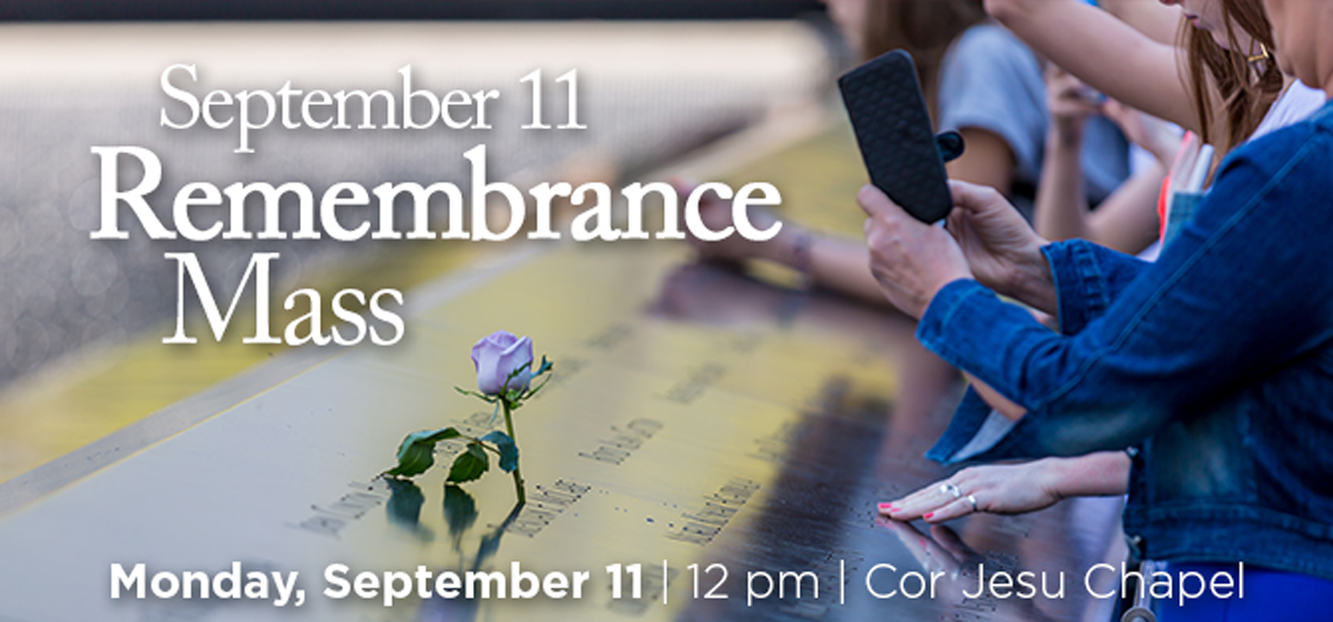 September 11 Remembrance Mass