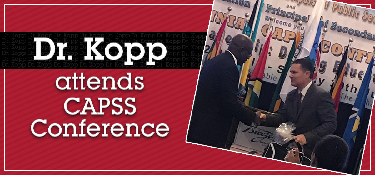 Dr. Kopp attends CAPSS Conference