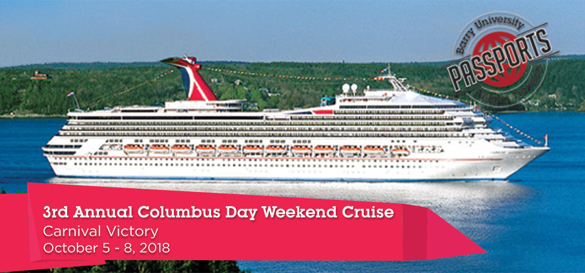 3rd Annual Columbus Day Weekend Cruise
