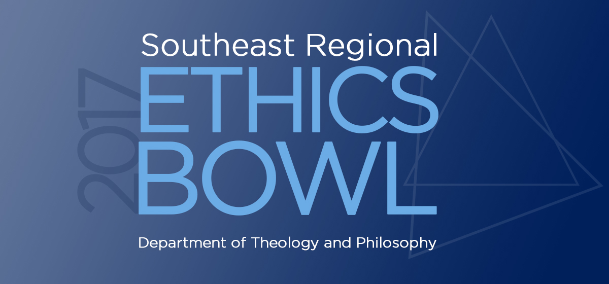 2017 Southeast Regional Ethics Bowl